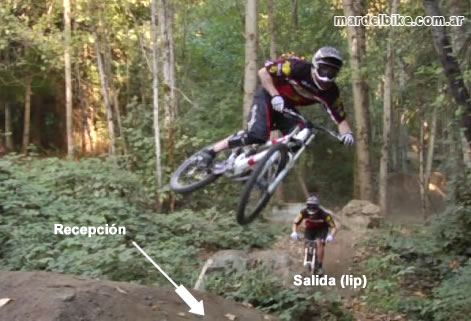 Doblar En El Aire Whip Mountain Bike Mardel Bike