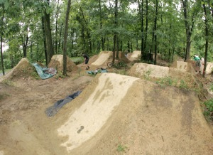Saltos de dirt - Dirt jumps